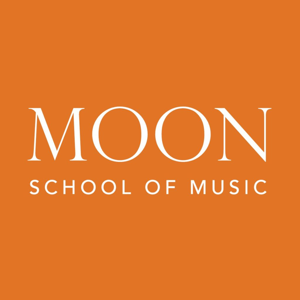 Moon School of Music Orange Square Logo